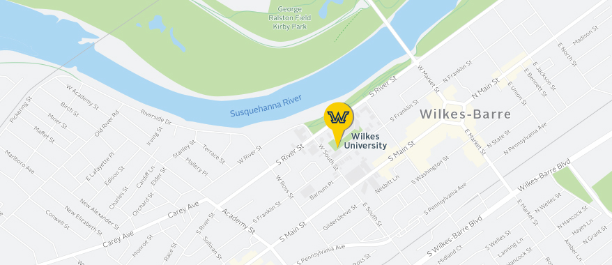 Wilkes university Campus Map